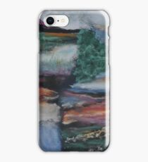 Landscape - quadtych iPhone Case/Skin
