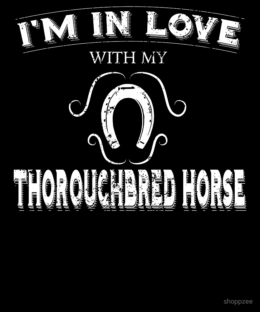 Anti Valintine Love Thoroughbred Horse by shoppzee