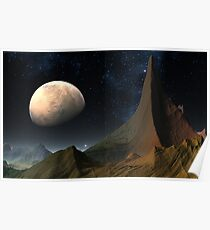 Mysterious Mars Poster