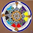 Sacred Space Mandala by tkrosevear