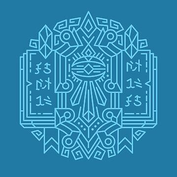 Mage – Class Crest (color) by dcmjs