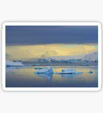 Morning Light, Antarctica Sticker