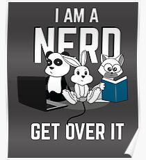 Animal Nerd Funny Poster