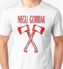 Camiseta unisex Negu Gorriak Rojo