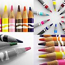 Colored Pencils Collage by MichelleR
