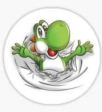 Yoshi surprise Sticker