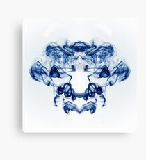 Smoke Abstract Canvas Print