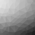 Gray Gradient Geometric Mesh Pattern by PLdesign