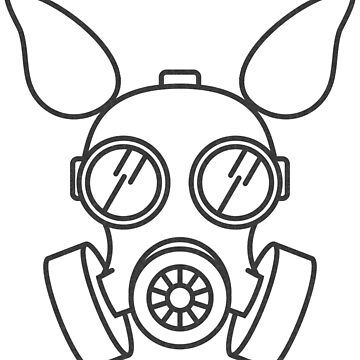 Gas Mask Pup by PupHex