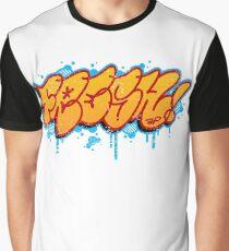 FRESH Graffiti Hip Hop Style Graphic T-Shirt Gift Graphic T-Shirt