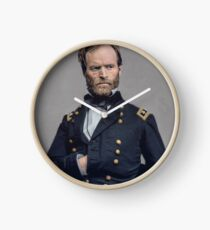 General William T. Sherman - Civil War Clock