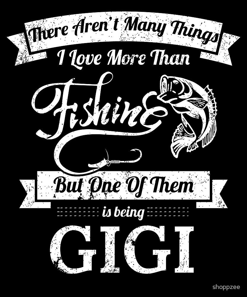 Love Fishing Being GigWomen Bass Fishing Shirts by shoppzee
