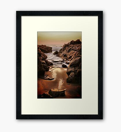 Eternal Sea Framed Print