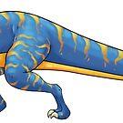 Tyrannosaurus Rex by Rowena Aitken