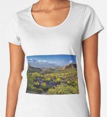 Arizona's Desert Landscape Women's Premium T-Shirt