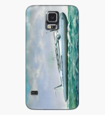 Streamlined ocean liner Case/Skin for Samsung Galaxy