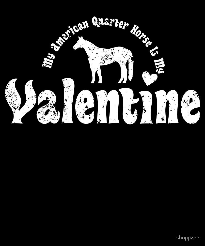 My Anti Valentine American Quarter Horse by shoppzee