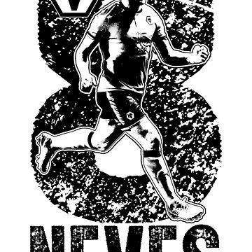 Rúben Neves - Wolverhampton Wanderers FC (B/W) by TurboCake