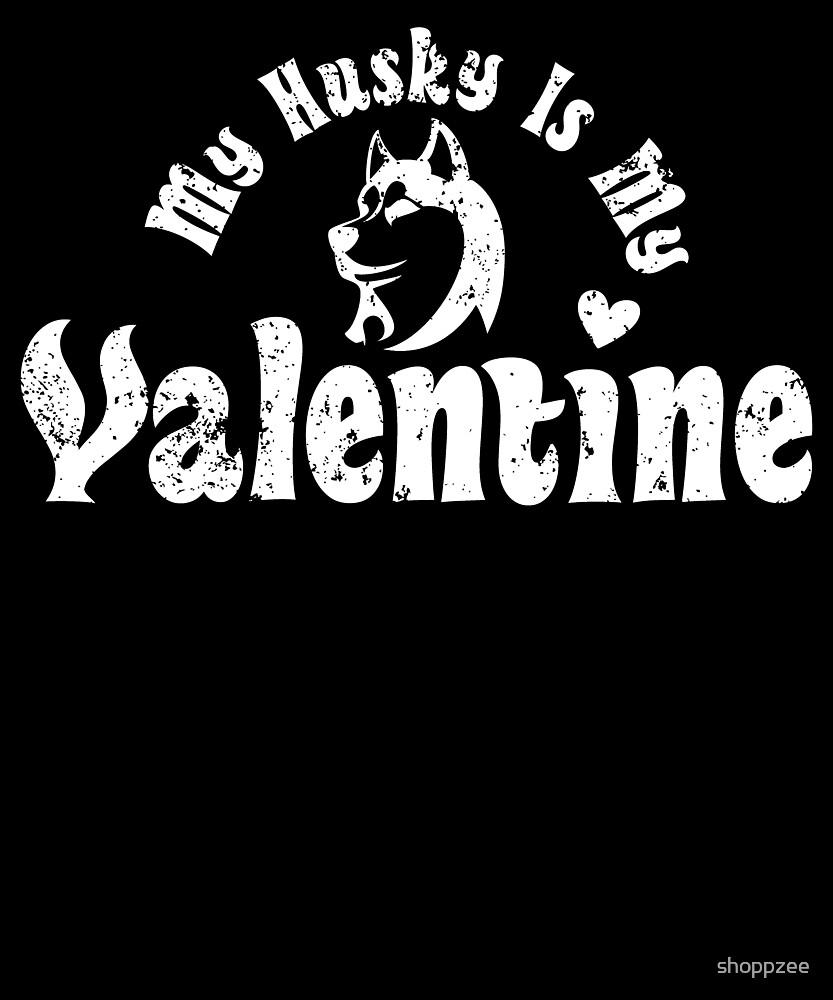 My Anti Valentine Husky by shoppzee