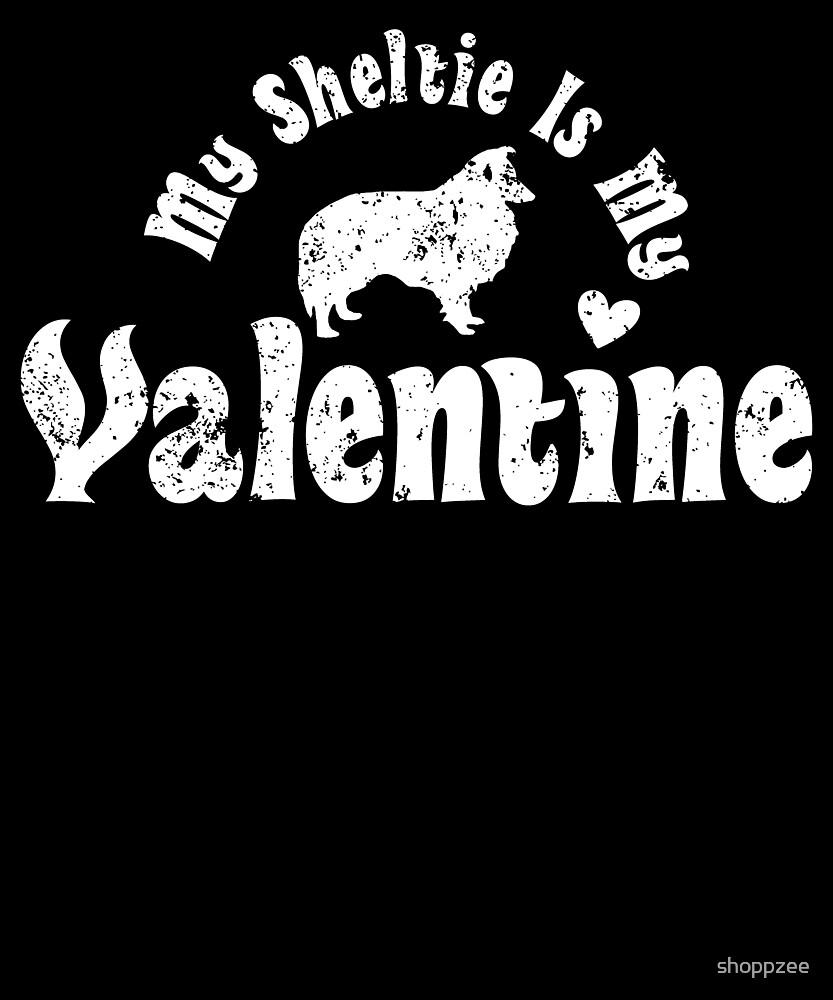 My Anti Valentine Sheltie by shoppzee