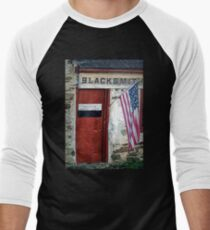 Marshallton, Pennsylvania Blacksmith Shop Men's Baseball ¾ T-Shirt