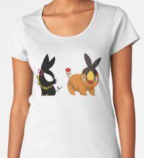 Tepig & Pchan Women's Premium T-Shirt