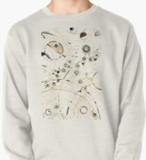 Diffracting Around - ink drawing Pullover Sweatshirt