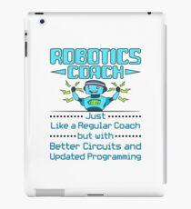 Robotik-Trainer-lustiges Geschenk-Wettbewerbsteam iPad-Hülle & Klebefolie