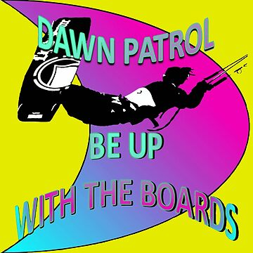Dawn Patrol - Pink Be Up With The Boards Kitesurf by taiche