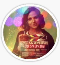 Lana Parrilla Directing Once Upon A Time Sticker