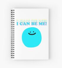 I Can Be Me! Spiral Notebook
