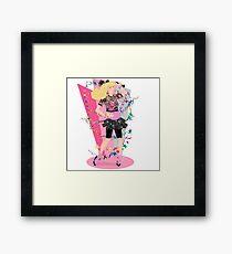 1980s GIRL Framed Print
