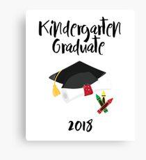 Kindergarten Graduation Gift for Kids Canvas Print