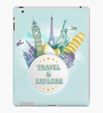 Travel & Explore iPad Case/Skin