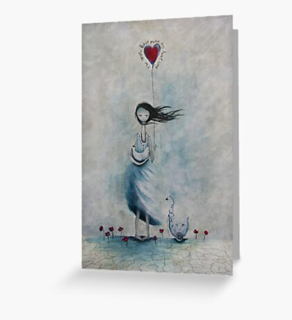 The simple things make my heart sing Greeting Card