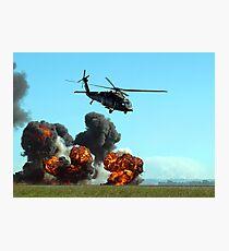 Australian Army Blackhawk Helicopter - Avalon, 2011 Photographic Print