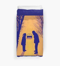 X files  We lost 9 minutes (pop) by Mimie ( more 70 designs XFiles in my shop) Duvet Cover