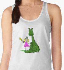 Knight and Dragon Women's Tank Top