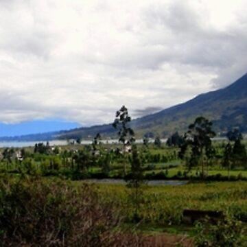 The Way To Otavalo Panorama by alabca