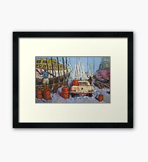 Flying Squadron Yacht Club Framed Print