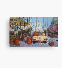 Flying Squadron Yacht Club Canvas Print