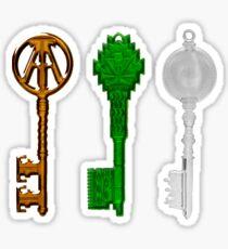 Keys Ready Player One Sticker