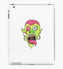 Crazy Zombie Madness!  iPad Case/Skin