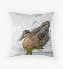 Aquatic Serenity Throw Pillow