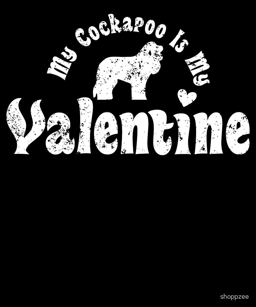 My Anti Valentine Cockapoo by shoppzee