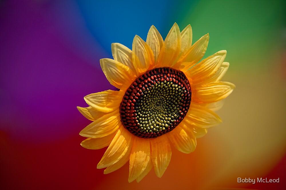 Sunflower-high by Bobby McLeod