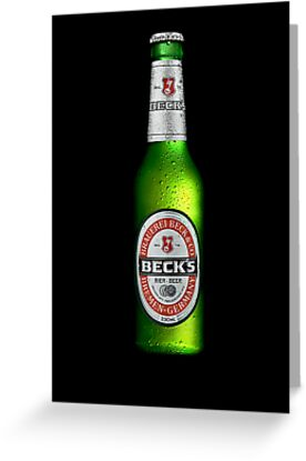 Ice Cold Beck's Beer by Ryan Carter