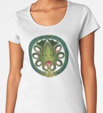 HAIL CTHULHU! - Full Cosmic Horror Color Women's Premium T-Shirt