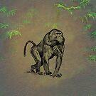 Baboon by David Dehner