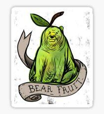 Bear fruit Sticker